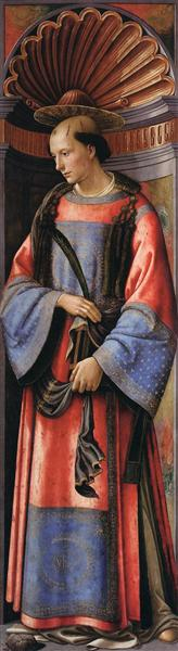 St. Stephen the Martyr, c.1490 - c.1494 - Domenico Ghirlandaio