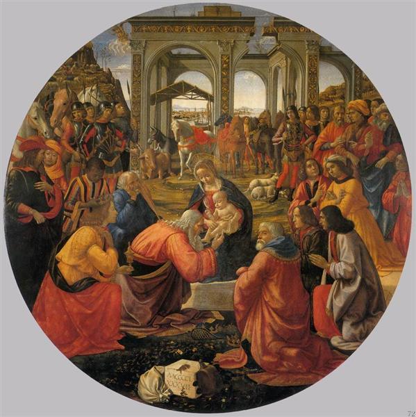 The Adoration of the Magi, 1487 - Domenico Ghirlandaio