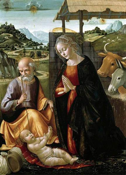 The Nativity, c.1492 - Domenico Ghirlandaio