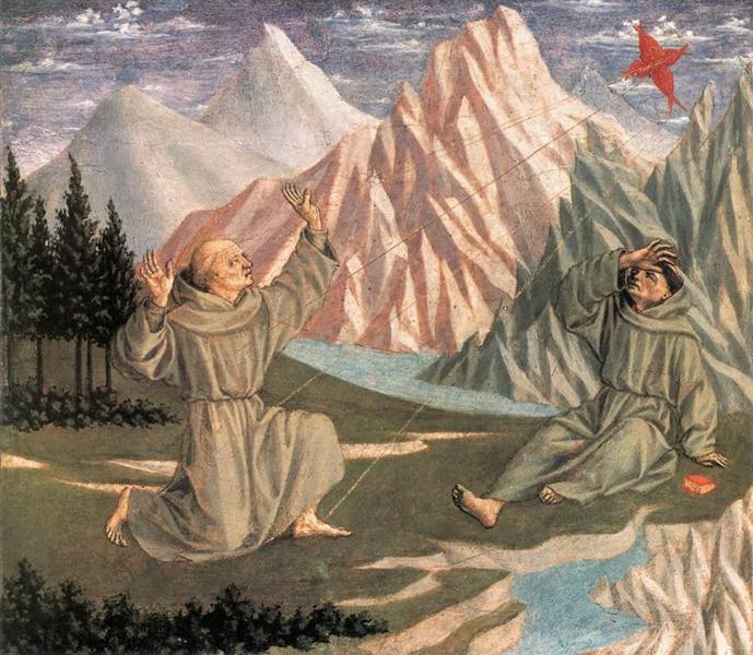 The Stigmatization of St. Francis, c.1445 - Domenico Veneziano