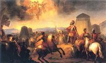 O Milagre de Ourique - Domingos de Sequeira