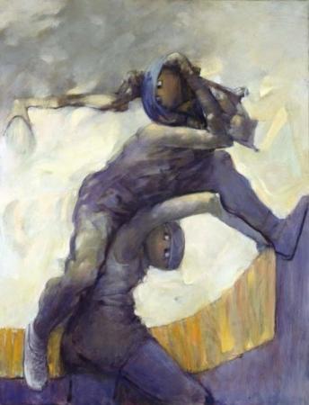 Dionysos SOS, 1989 - Dorothea Tanning