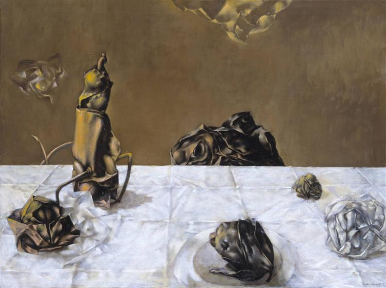 Some Roses and Their Phantoms, 1952 - Dorothea Tanning