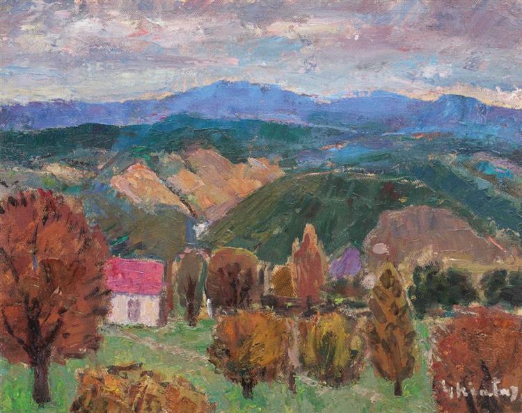 Bistrița Valley, 1965 - Dumitru Ghiatza