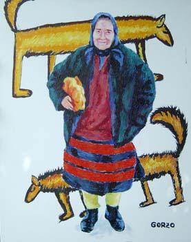 Baba cu colacii, 2004 - Dumitru Gorzo