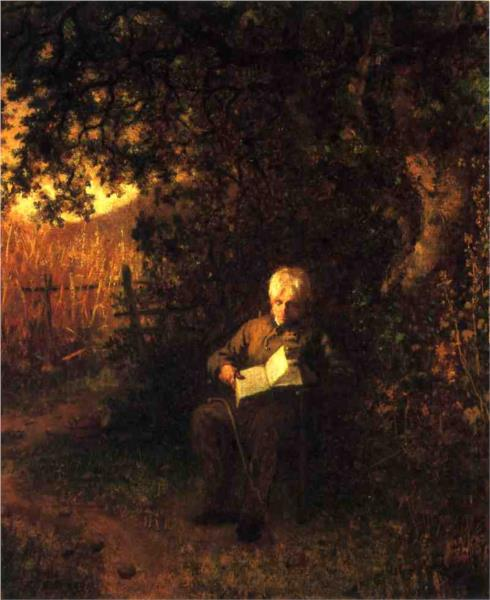 A Quiet Hour, 1873 - Eastman Johnson