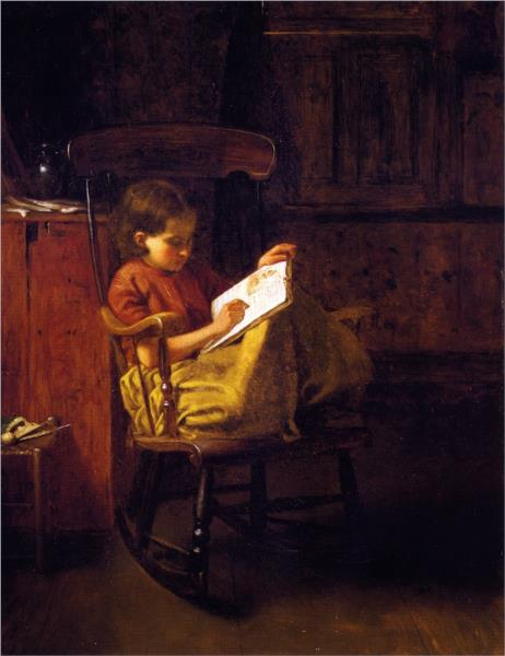 The Boston Rocker - Eastman Johnson