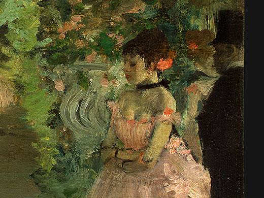 Dancers Backstage (detail), 1876 - 1883 - Edgar Degas