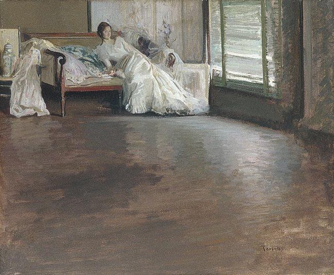 Across the Room, 1899 - Edmund Tarbell