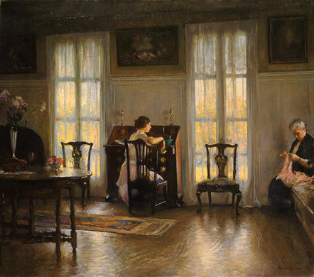 Mother and Mary, 1922 - Edmund Charles Tarbell