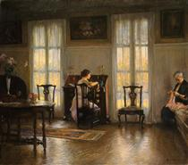Mother and Mary - Edmund Charles Tarbell
