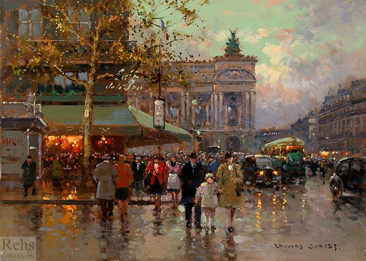 Place de l'Opera - Cortes Edouard