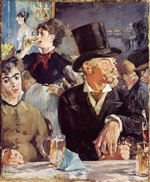 At the Cafe-Concert, c.1879 - Edouard Manet
