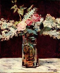 Lilla e rose - Edouard Manet