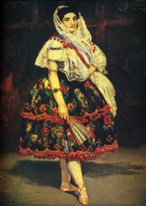 Lola de Valence - Edouard Manet