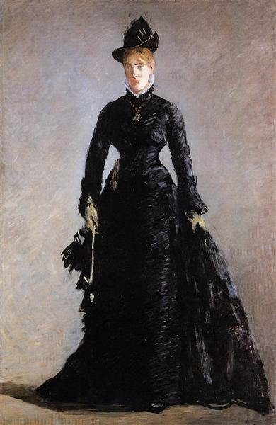 Parisienne Study of Ellen Andree, 1874 - Edouard Manet
