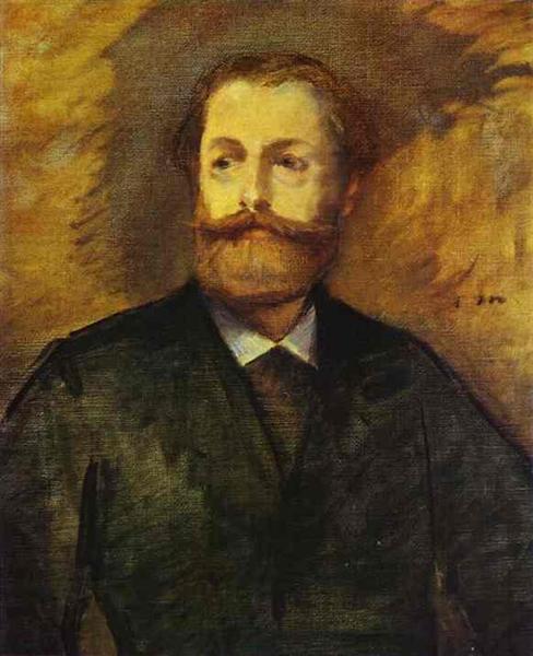 Portrait of Antonin Proust (Study), 1877 - Édouard Manet