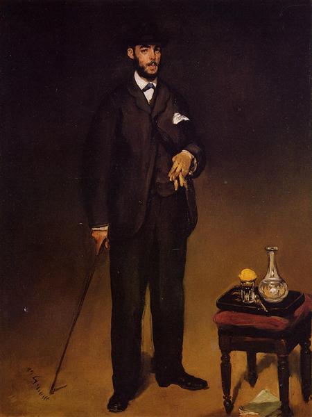 Theodore Duret, 1868 - Edouard Manet