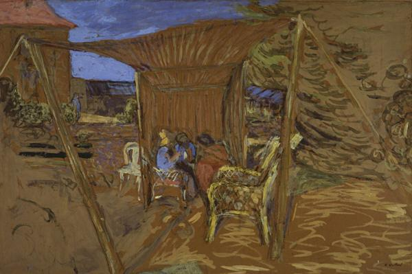 The Tent, 1908 - Edouard Vuillard