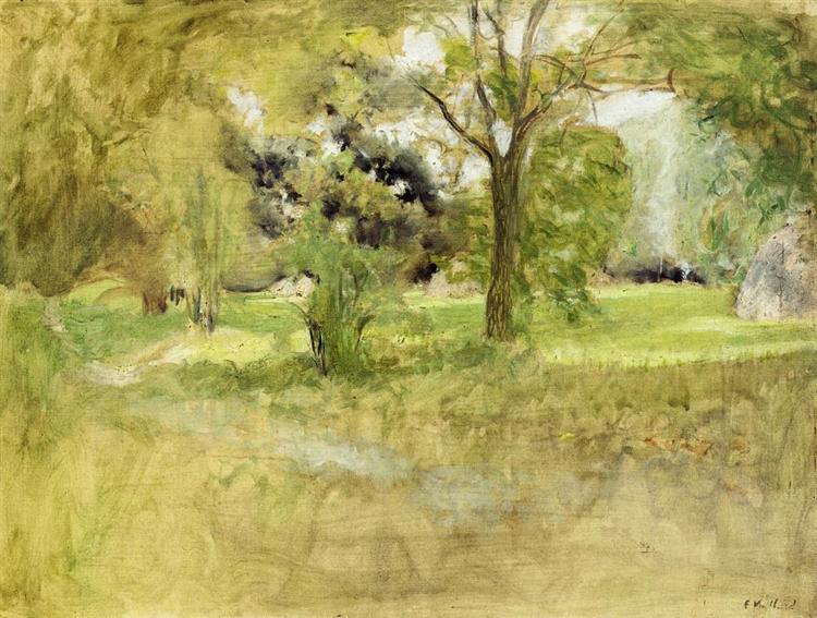 Trees in a Field, 1907 - Edouard Vuillard