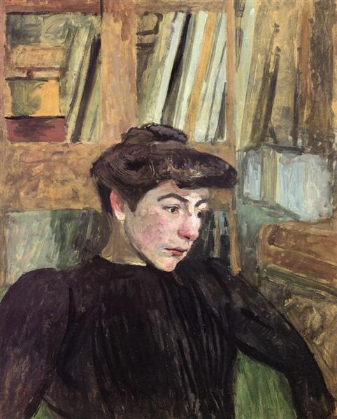 Woman with Black Eyebrows, 1910 - Edouard Vuillard