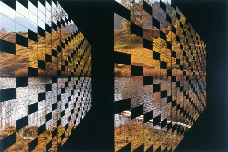 Paisagem: reconstrução nº 3, 1985 - Eduardo Nery