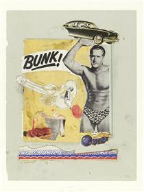Bunk! Evadne in Green Dimension - Eduardo Paolozzi