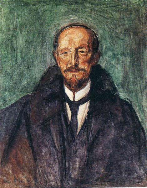 Albert Kollmann, 1902 - Edvard Munch