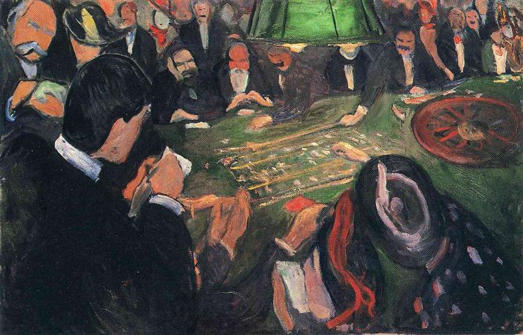 By the Roulette, 1892 - Edvard Munch