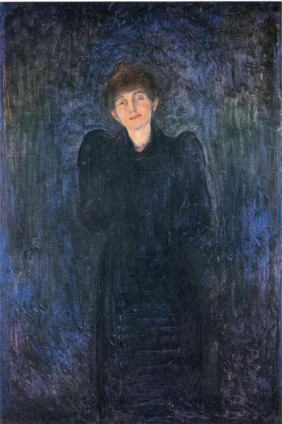 Dagny Juel Przybyszewska, 1893 - Edvard Munch