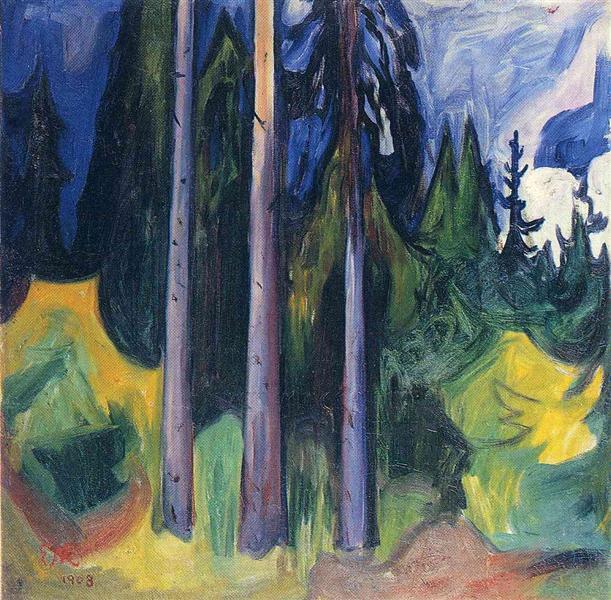 Forest, 1903 - Edvard Munch