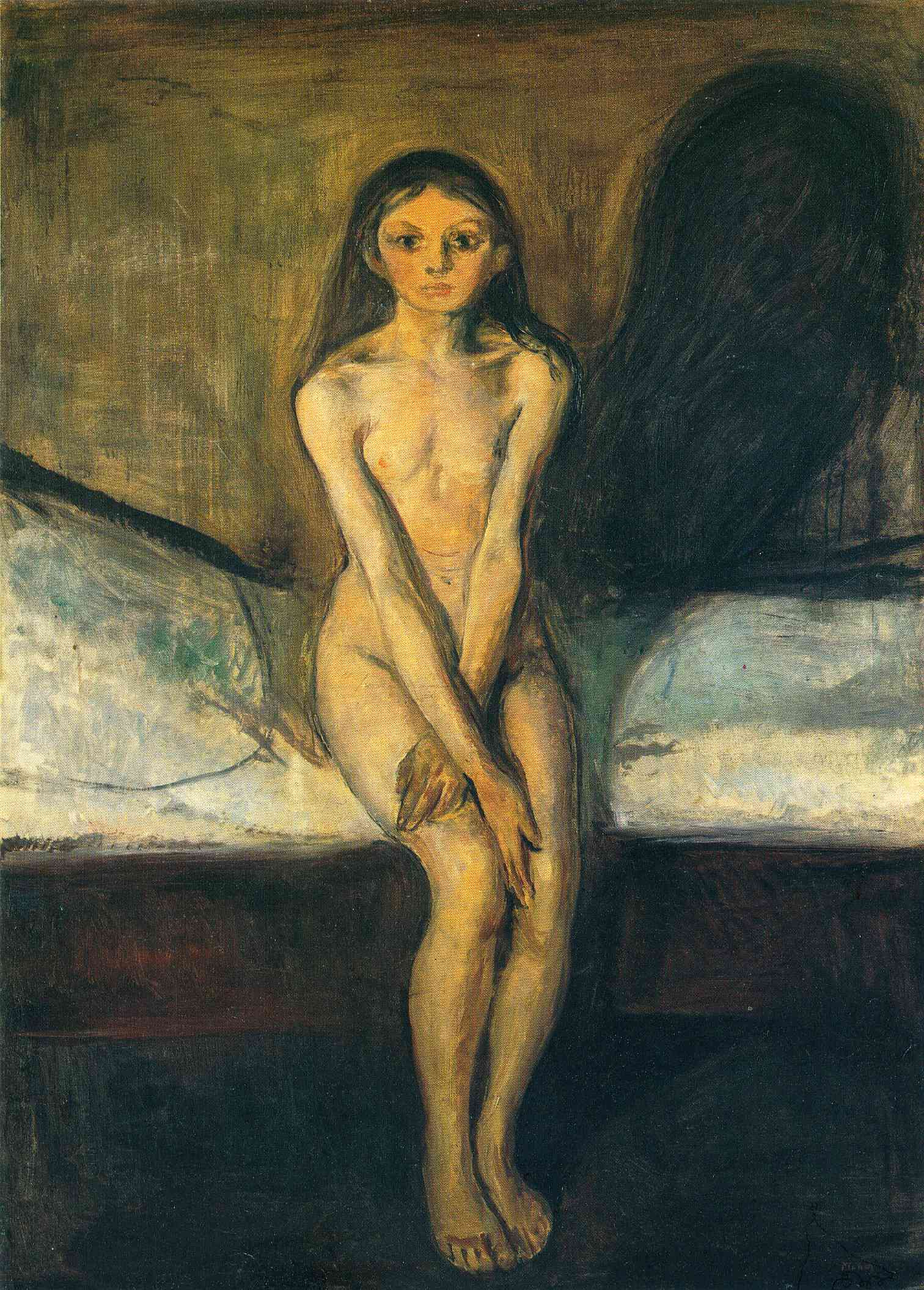 Edvard Munch / Edvard Munk  Puberty-1894