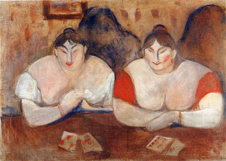 Rose and Amélie, 1894 - Edvard Munch