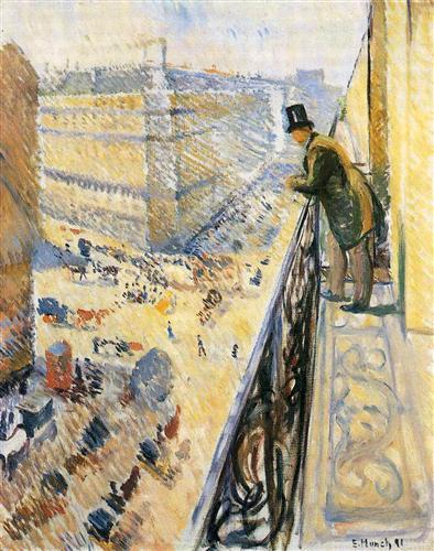 Street Lafayette - Edvard Munch