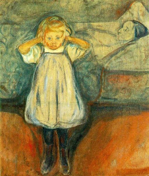 The Dead Mother, 1899 - 1900 - Edvard Munch