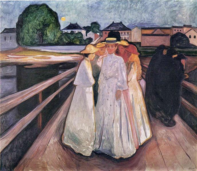 The Ladies on the Bridge, 1903 - Edvard Munch