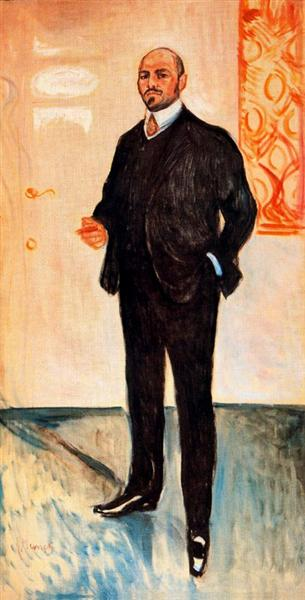 Walter Rathenau, 1907 - Edvard Munch