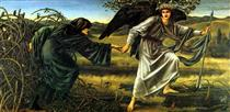 Love Leading The Pilgrim - Edward Burne-Jones