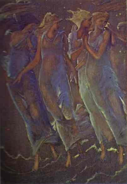Nymphs of the Stars - Edward Burne-Jones