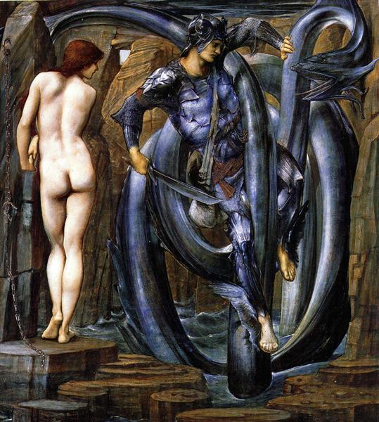 The Doom Fulfilled, 1884 - 1885 - Edward Burne-Jones