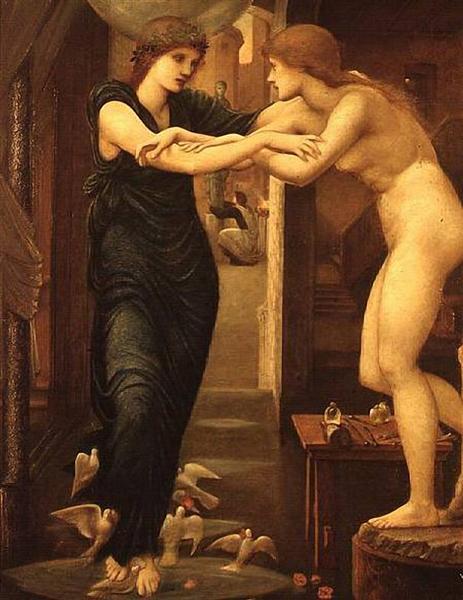 Пигмалион, 1868 - 1870 - Эдвард Бёрн-Джонс