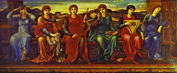 The Hours, 1882 - Edward Burne-Jones