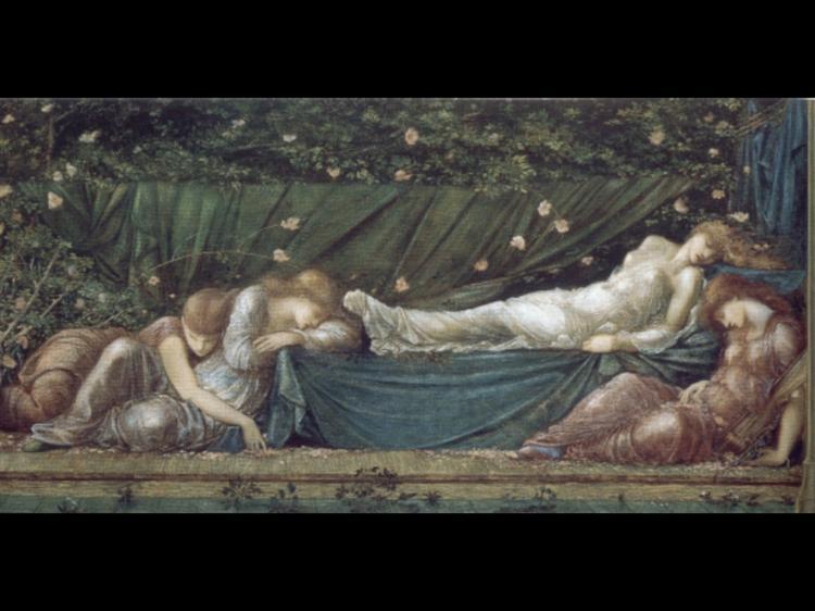 The Rose Bower - Burne-Jones Edward