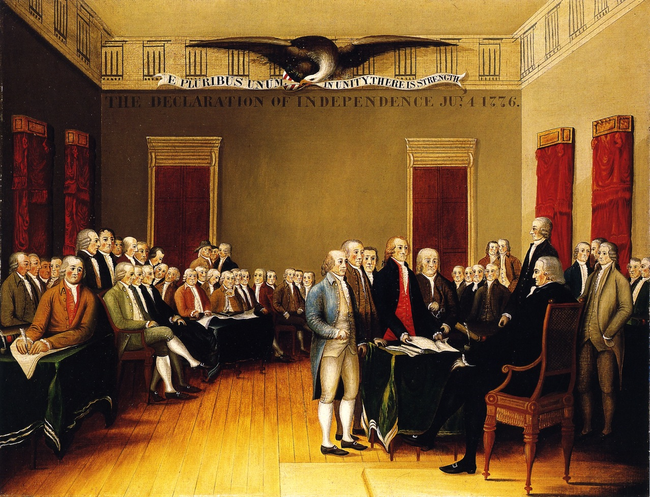 main thesis of declaration of independence