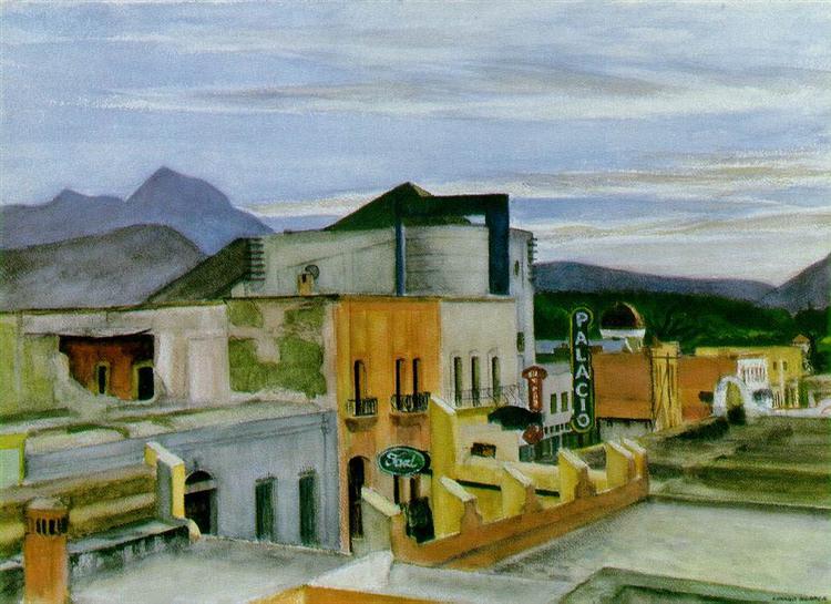 El Palacio, 1946 - Edward Hopper