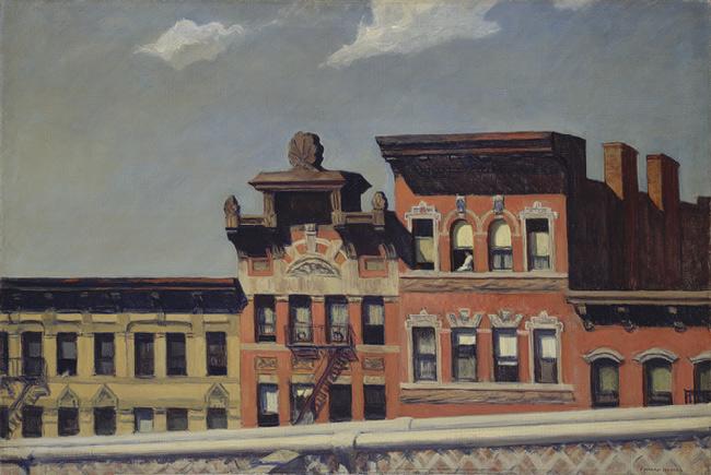 From Williamsburg Bridge, 1928 - Edward Hopper