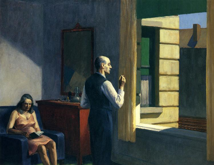 Hotel By A Railroad, 1952 - Edward Hopper