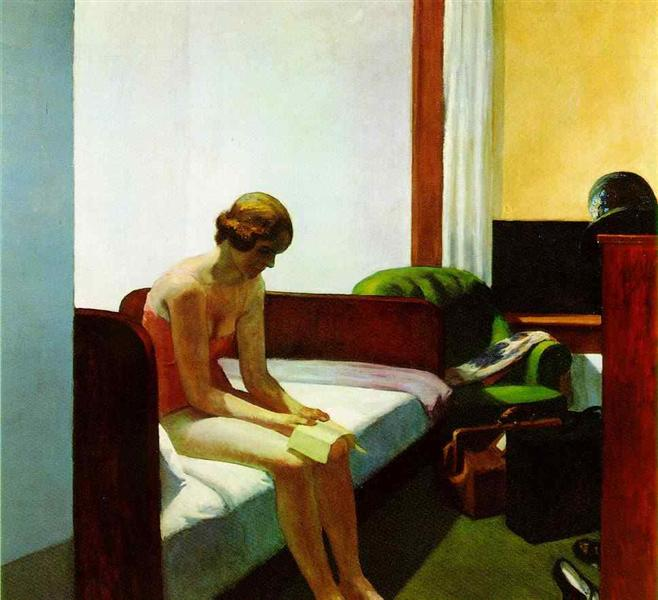 Hotel room, 1931 - Edward Hopper