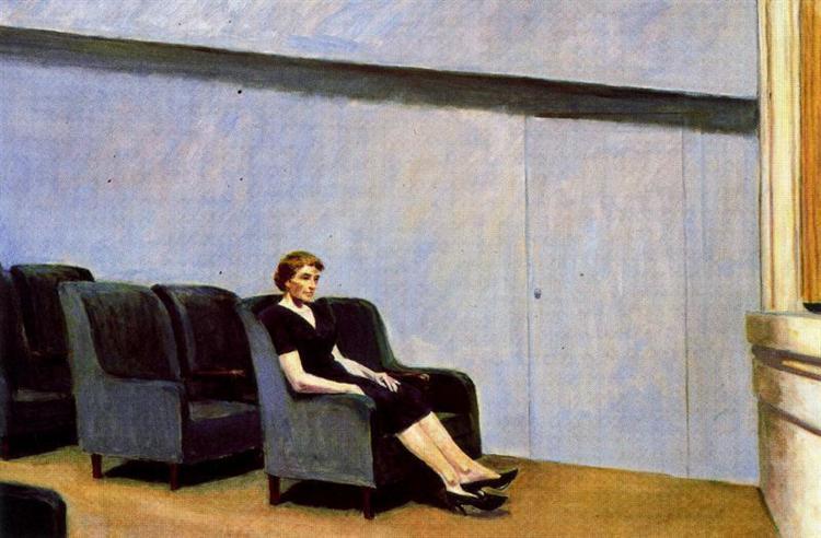 Intermission (also known as Intermedio), 1963 - Edward Hopper