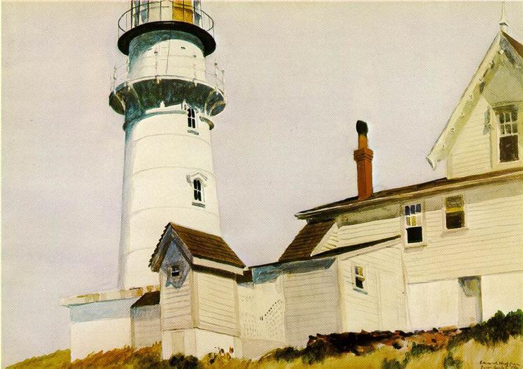 Light at Two lights, 1927 - Edward Hopper